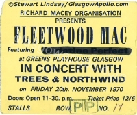 Fleetwood Mac - Trees & Northwind - 20/11/1970