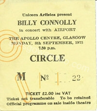 Billy Connolly - 08/09/1975