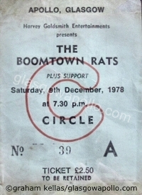 The Boomtown Rats - The Vipers - 09/12/1978