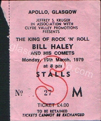 Bill Haley and the Comets - 19/03/1979