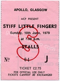 Stiff Little Fingers - Starjets - 10/06/1979