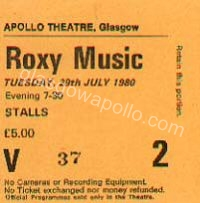 Roxy Music - Martha and the Muffins  - 29/07/1980