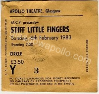 Stiff Little Fingers - The Alarm - 06/02/1983